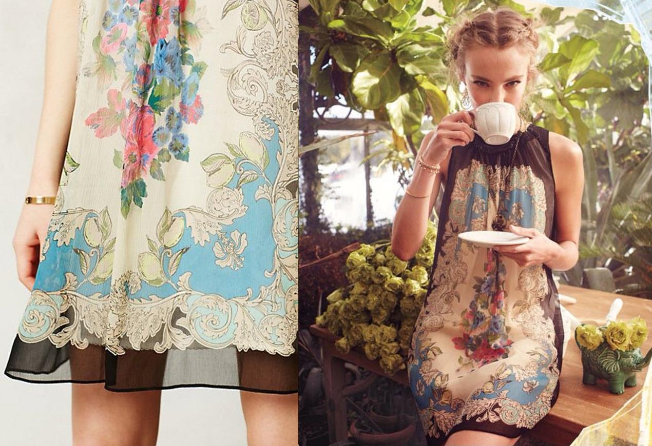 Flora Vignette Dress