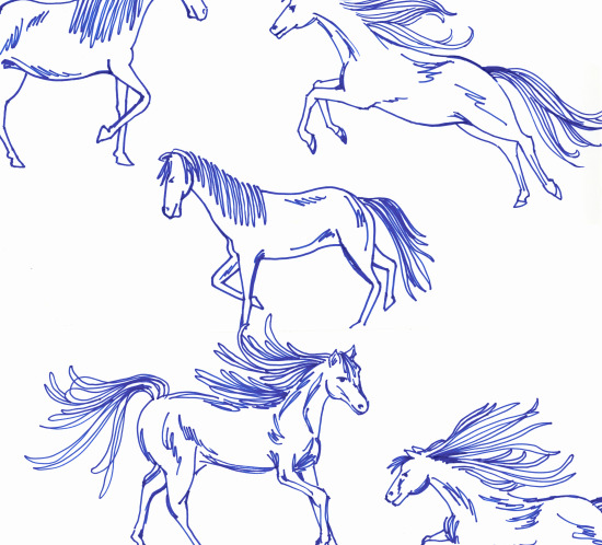 horses_sketched